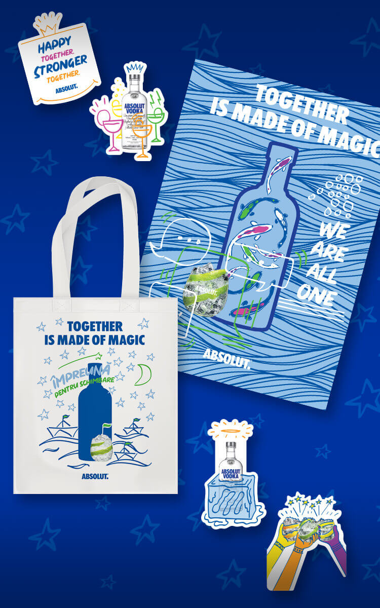 Absolut X Andreea Verde Together Is Made Of Magic