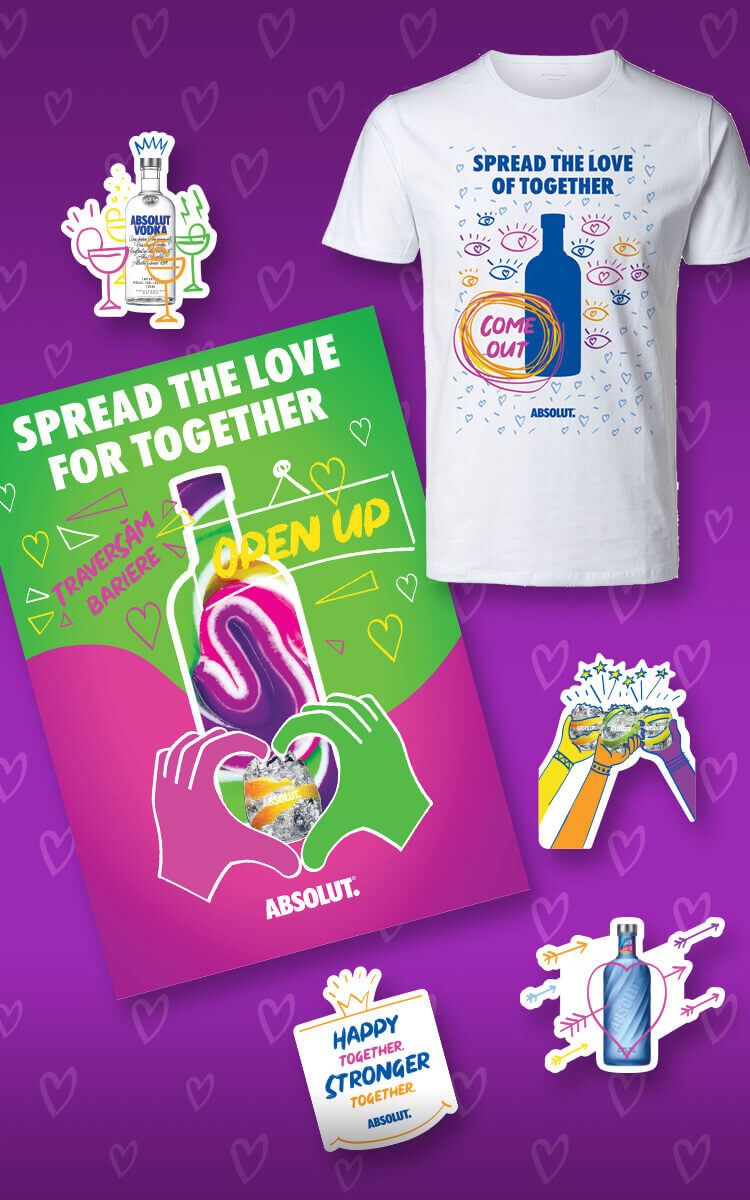 Absolut X Lorelei Bratu Spread The Love For Together